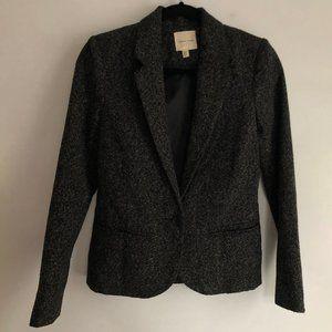 Black Speckled Wool Blazer - Silence + Noise